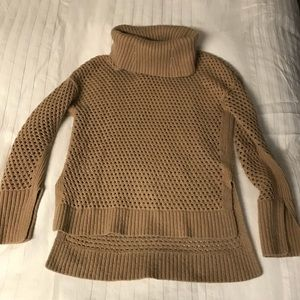 BCBGMaxAzria knitted turtleneck sweater